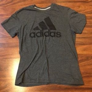 Men's Adidas climalite shirt.  So soft to touch.